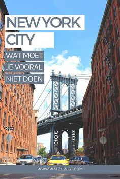 Wat moet je vooral niet doen in New York City | Overslaan in New York // Better skip this in New York