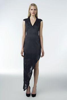 Helmut Lang Resort 2010 Fashion Show - Tabea Koebach