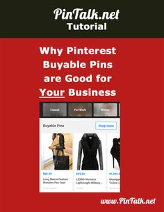 Why Pinterest Buyable Pins are Good for Your Business. Why are Buyable Pins good for your business?  According to a 2015 Millward Brown Digital's Ignite survey of active Pinterest users:  Two-thirds of their pins represent brands and products 87% reported Pinterest helped them decide what to purchase 93% said they used Pinterest to plan for purchases