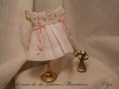Miniature Baby Dress