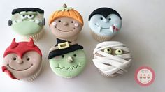 """822 Likes, 18 Comments - LadyBerryCupcakeSchool (@ladyberrycupcakes) on Instagram: """"⭐️NEW Super cute ONLINE Halloween Characters Class! Fun for everyone to create and all your…"""""""