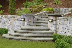 Outdoor Step Lighting Entryways, Steps and Courtyard Dibble Landscaping Petaluma, CA
