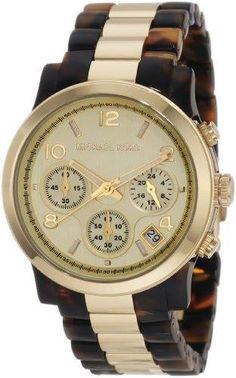 Michael Kors Watches Michael Kors Ladies Tortoise & Gold Runway (Tortoise)  https://www.facebook.com/notes/michael-kors-watches-usa/-hot-on-sale-michael-kors-watches-michael-kors-ladies-tortoise-gold-runway/298870780167898 #michaelkorswatch #fashion #watch #jewelry