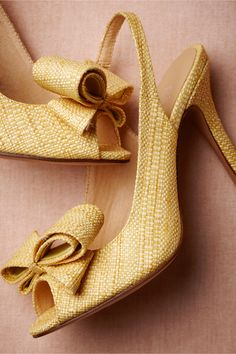 *swoon* Blithe Slingbacks in Shoes & Accessories Shoes at BHLDN