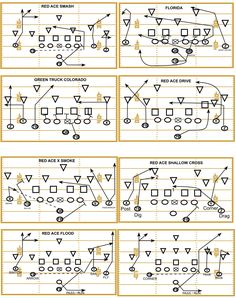 Pass plays Base passing plays