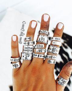 Metal Stamping Jewelry, Metal Stamped Bracelet, Hand Stamped Metal, Stamped Jewelry, Handmade Jewelry, Ear Jewelry, Jewelery, Jewelry Accessories, Cowgirl Jewelry
