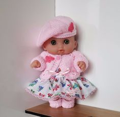 """Handmade Baby Dolls Clothes for 8.5"""" Lil' Cutesie BERENGUER doll PI"""