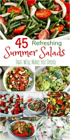 Frugal Food Items - How To Prepare Dinner And Luxuriate In Delightful Meals Without Having Shelling Out A Fortune 45 Refreshing Summer Salads That Will Make You Drool Cookout Side Dishes, Cookout Food, Summer Side Dishes, Sides For A Cookout, Cookout Appetizers, Barbeque Side Dishes, Bbq Salads, Easy Salads, Summer Salad Recipes
