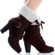 Brown ankle boots<3<3<3