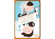 Svadobné oznámenie - SV037