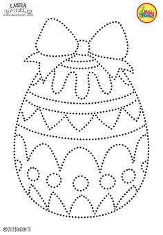 Easter Tracing and Coloring Pages for Kids - Free Preschool Printables and Worksheets, Fine Motor Skills Practice - Easter bunny, eggs, chicks and more on BonTon TV - Coloring books - Easter Crafts Easter Activities For Kids, Easter Crafts For Kids, Toddler Crafts, Easter Colouring, Coloring Pages For Kids, Coloring Books, Easter Coloring Pages Printable, Preschool Printables, Preschool Activities