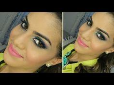 """Maquiagem usando produtos BRASILEIROS """"nacionais"""" por Camila Coelho"""