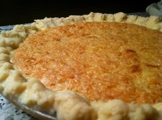 FRENCH COCONUT PIE that has been popular since the 1870's has the perfect texture and a rich flavor. It's simple to make, but hard to forget. It's a KEEPER.
