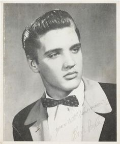 """Elvis Presley Tuxedo 1954  