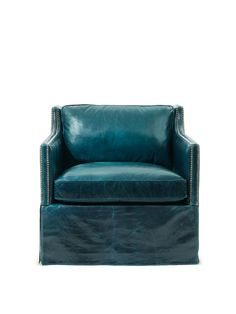 I think this is a fantastic chair. The color and distressed leather are so cool together.