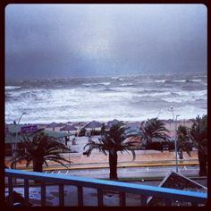 Il tempestoso mare di #Civitanova