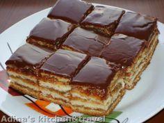Un desert fin ce se topeste in gura - KFetele Eastern European Recipes, Romanian Food, Romanian Recipes, Sweet Tarts, Food Cakes, Gordon Ramsay, Cake Recipes, Easy Meals, Cooking Recipes