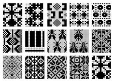 perfect for double knitting Knitting Charts, Knitting Stitches, Knitting Designs, Knitting Patterns, Crochet Patterns, Cross Stitch Borders, Cross Stitch Patterns, Beading Patterns, Embroidery Patterns