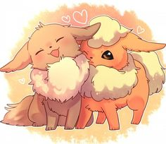 eevee and flareon