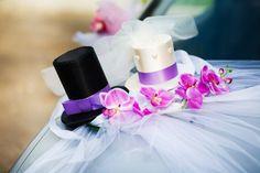 Wedding Car Decoration With Flowers - car-decoration_