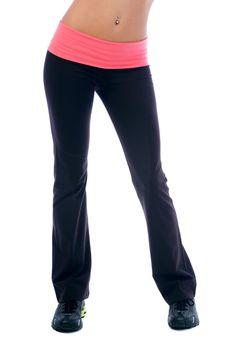 Yoga Pant w/ Folding Waistband