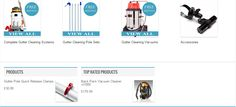 Gutter Cleaning Equipment & Tools | No ladder required complete systems   inc Gutter Vac, Pole Sets, Inspection Camera & Accessories- Free   Shipping, Buy Now! http://guttercleaningsupplies.co.uk/