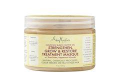 SHEA MOISTURE Jamaican Black Castor Oil Strengthen Grow & Restore Treatment Masque Size: 12.0 oz
