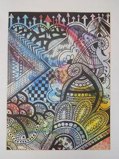 Art Room Online - great art class website with lots of ideas