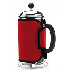 Cosy Red Cafetiere Keep Coffee Hot >>> You can find out more details at the link of the image.Note:It is affiliate link to Amazon.
