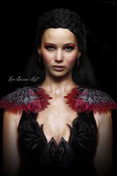 badbrewpack blog: It's All About The Hunger... - Katniss feather gown