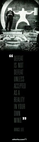 Do not accept defeat! #workout #Diet #cardio #weightlost #Stayinshape #PersonalTrainer #Passion #healthy #lifestyle #fitnessaddict