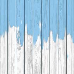 Wlewanie niebieskiej farby na białym tle drewna Darmowych Wektorów