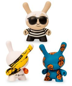 Kidrobot announces a new capsule with the Andy Warhol Foundation!!!