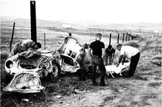 'Rebel Without a Cause' actor James Dean was killed in his Porsche today in 1955, he was 24.