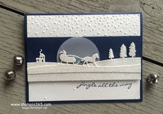 Hello, friends, how are you today? Have you had a chance to create with the new Sleigh Ride Edgelits Dies yet? I'm so in love with them. Just look at those details, perfect in glimmer paper: Suppli...
