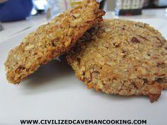 Paleo Apple Cinnamon Cookies  #glutenfree #grainfree #paleo