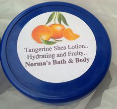 tangerine lotion skin care beauty bath and body body by normasbath