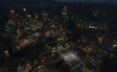 Blade Runner meets Fallout 4 in this amazing settlement creation Fallout Four, Fallout 4 Mods, Fallout Art, Xbox One Mods, Fallout 4 Settlement Ideas, Post Apocalyptic City, Cloud Gaming, Sanctuary City, Nasa Photos