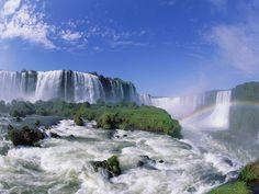 Iguazu Falls, Brazil...#2 on my list of places I MUST go!