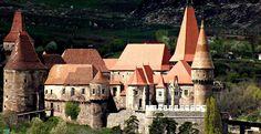 Hunyad Castle , in Transylvania, Romania!