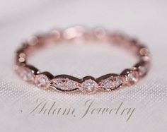 Eternity rose gold