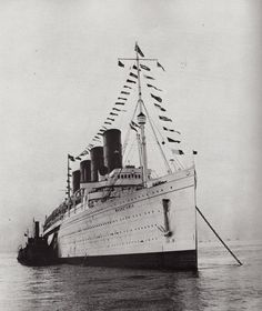 RMS Mauretania, 1934 #RMS Mauretania#1934