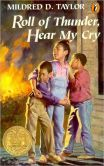 Roll of Thunder, Hear My Cry by Mildred D. Taylor.  Required reading when I was in the 7th grade.  I still have this book.