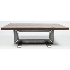 Reclaimed Studebaker Factory Model 2 Coffee Table