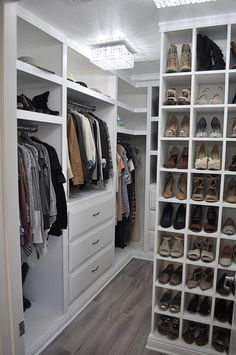 Need help planning your walk-in closet design? Use this handy ...