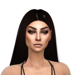 Annabeth Holguin • Skin Detail - @sclub-privee • Hair - @darkosims3 • Eyes - @chisimi • Eyebrows - @pralinesims • Eyelashes - @kijiko-sims • Eyeshadow - @fashionroyaltysims • Eyeliner -...