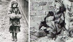 Starving children in the Ukraine during the Holodomor, 1932-33