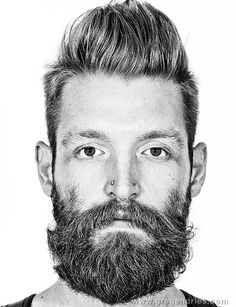 Bearded quiff - Badass!