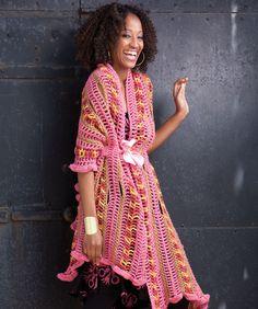Pretty in Pink Ruffle Wrap