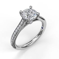 Fana Designed with a single row of diamonds joining at the center diamond, this classic style embraces simplicity and femininity. Engagement Ring Styles, Designer Engagement Rings, Engagement Ring Settings, Diamond Wedding Rings, Diamond Engagement Rings, Metal Jewelry, Fine Jewelry, Affordable Rings, Fashion Rings